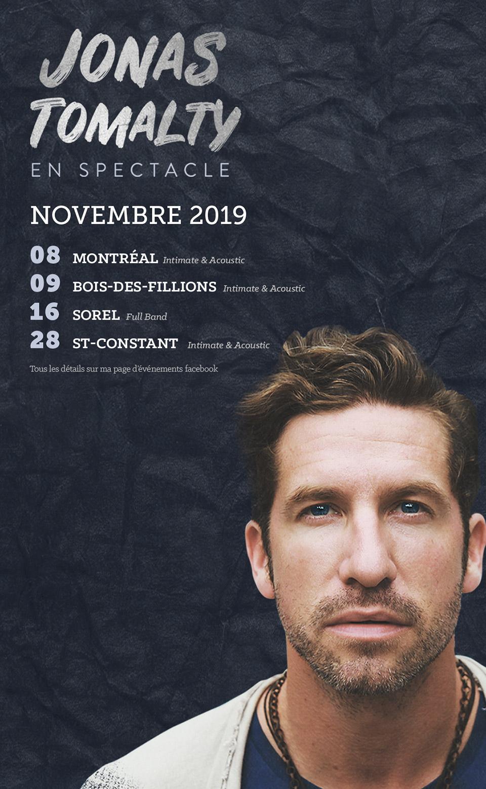 onas Tomalty - Novembre 2019