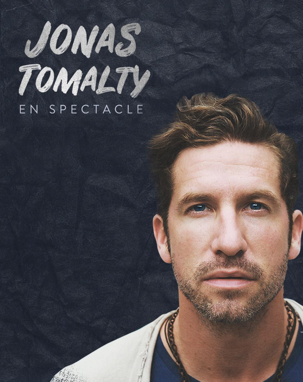 Jonas Tomalty en spectacle